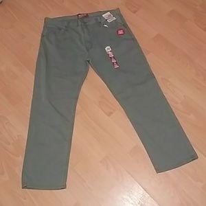 👖Arizona slim straight flex denim pants inv#4/24